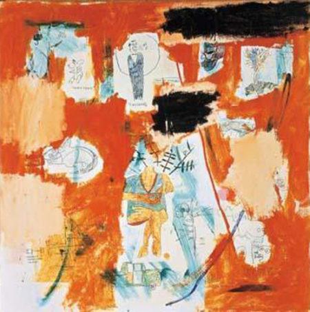 Jean-Michel Basquiat-Hotel #58-1984