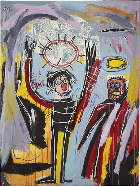 Jean-Michel Basquiat-Humidity-1982