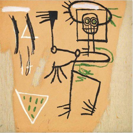 Jean-Michel Basquiat-Icon 6-1982