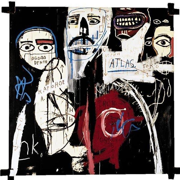 Jean-Michel Basquiat-In the Cipher-1982