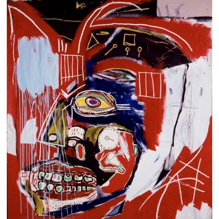 Jean-Michel Basquiat-In This Case-1983