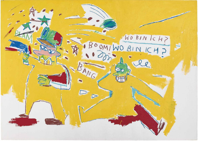 Jean-Michel Basquiat-Infantry-1983