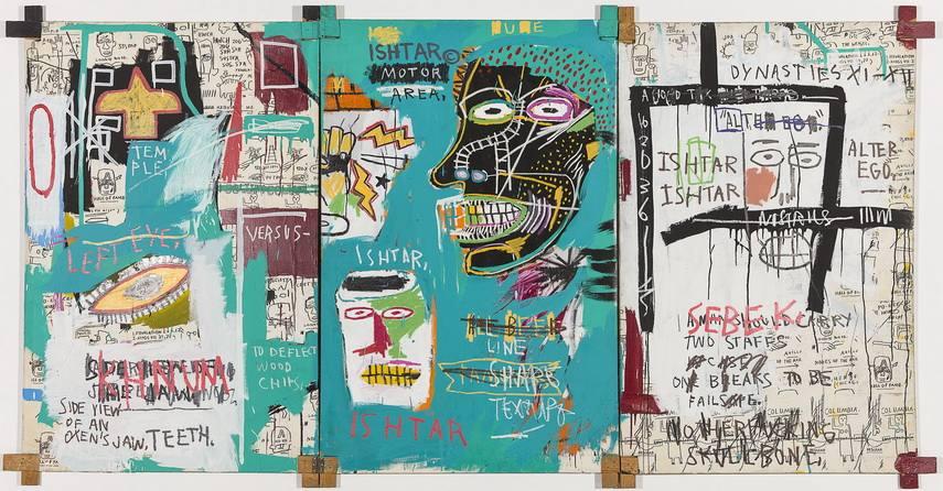 Jean-Michel Basquiat - Ishtar