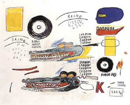 Jean-Michel Basquiat-Izod-1984