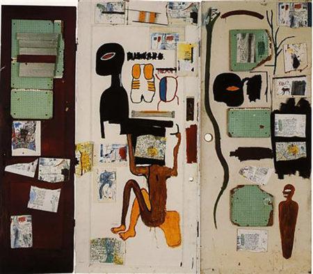 Jean-Michel Basquiat-J'S. Milagro-1985
