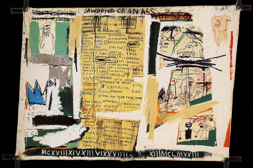 Jean-Michel Basquiat york artist painting 1983 like