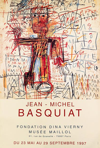 Jean-Michel Basquiat-Jean - Michel Basquiat / Musee Maillol-1987