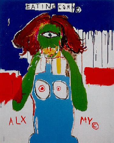 Jean-Michel Basquiat-Jewess-1986
