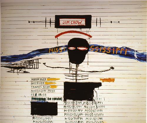 Jean-Michel Basquiat-Jim Crow-1986