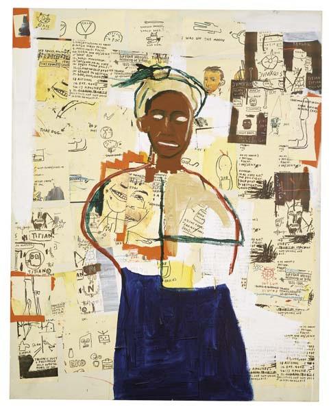 Jean-Michel Basquiat-Joy-1984