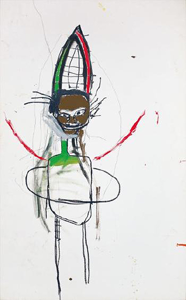 Jean-Michel Basquiat-Jump King-1984