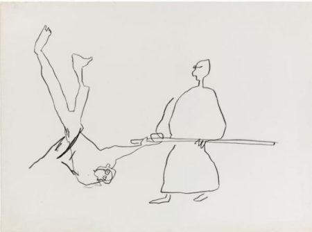 Jean-Michel Basquiat-Karate II-1983