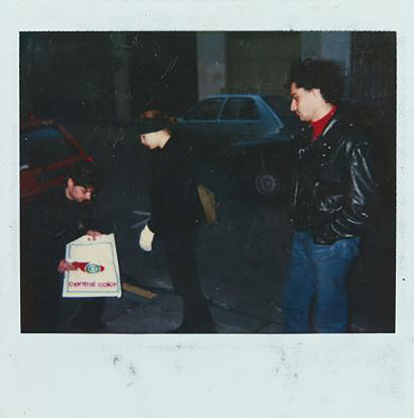 Jean-Michel Basquiat-Kelle Inman & Louis Jean II-1987
