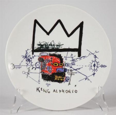 Jean-Michel Basquiat-King Alphonso-