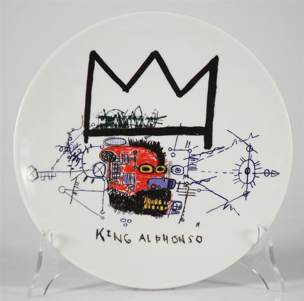 Jean-Michel Basquiat-King Alphonso-