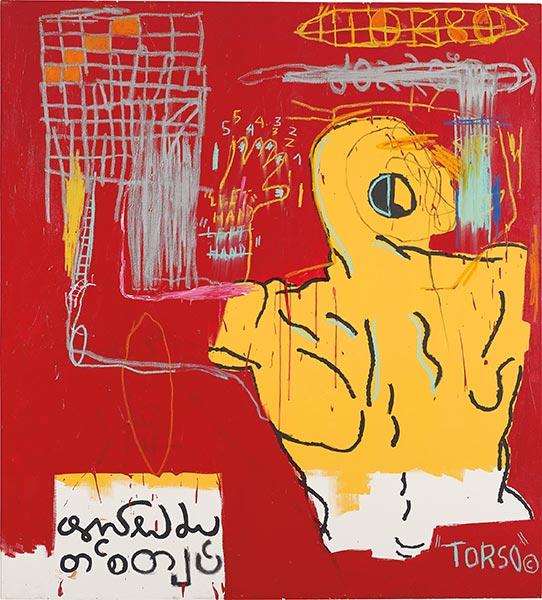 Jean-Michel Basquiat-Krong Thip-1983