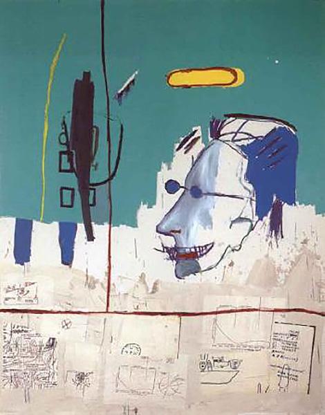 Jean-Michel Basquiat-L.F.-1984