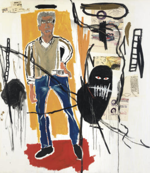Jean-Michel Basquiat-Larry-1985