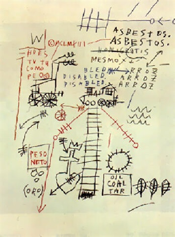 Jean-Michel Basquiat-Le Petit Train-