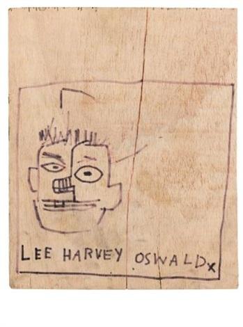 Jean-Michel Basquiat-Lee Harvey Oswald-1983