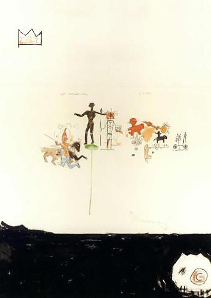Jean-Michel Basquiat-Left Entrance Hall-1986