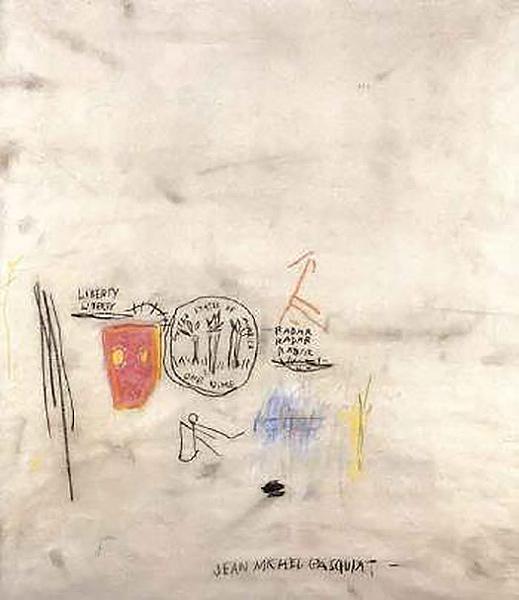 Jean-Michel Basquiat-Liberty, Liberty-1985