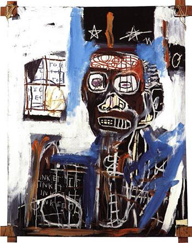 Jean-Michel Basquiat-Low pressure Zone-1982