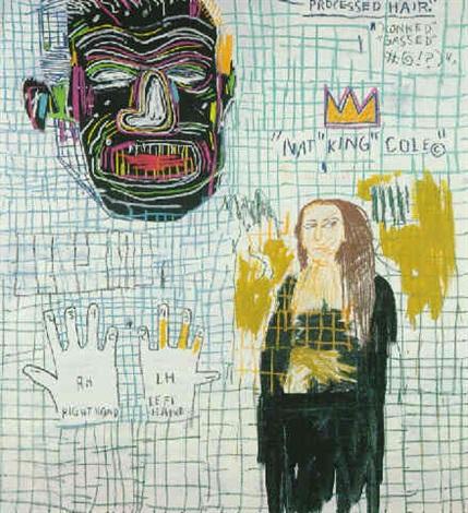 Jean-Michel Basquiat-Lye-1983