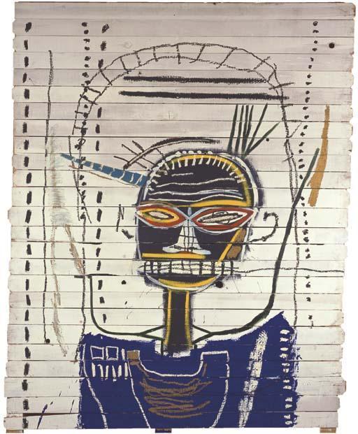 Jean-Michel Basquiat-M-1984