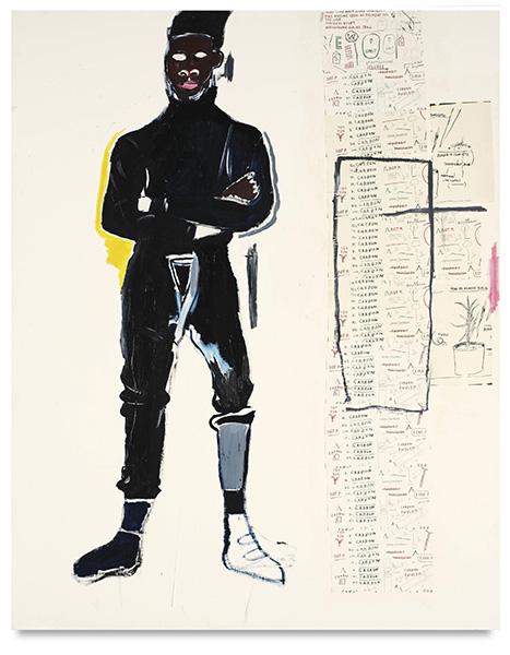 Jean-Michel Basquiat-M.P-1984