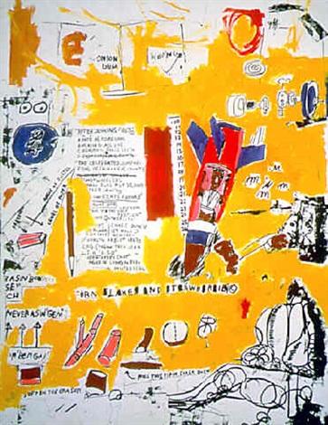 Jean-Michel Basquiat-M.T.-1984
