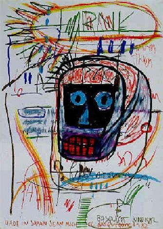 Jean-Michel Basquiat-Made in Japan-1982