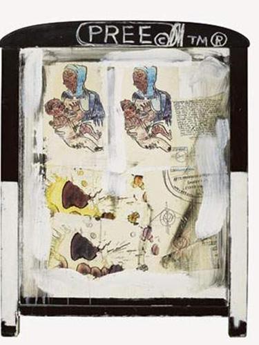 Jean-Michel Basquiat-Madonna-1985
