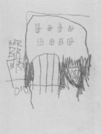 Jean-Michel Basquiat-Maison-
