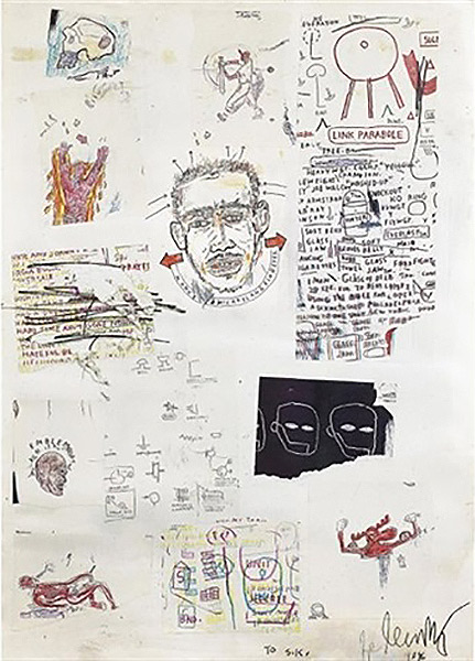Jean-Michel Basquiat-Manuel Michaelangelo Reyes-1986