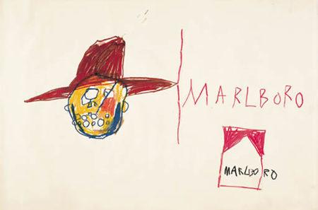 Jean-Michel Basquiat-Marlboro Man-1981