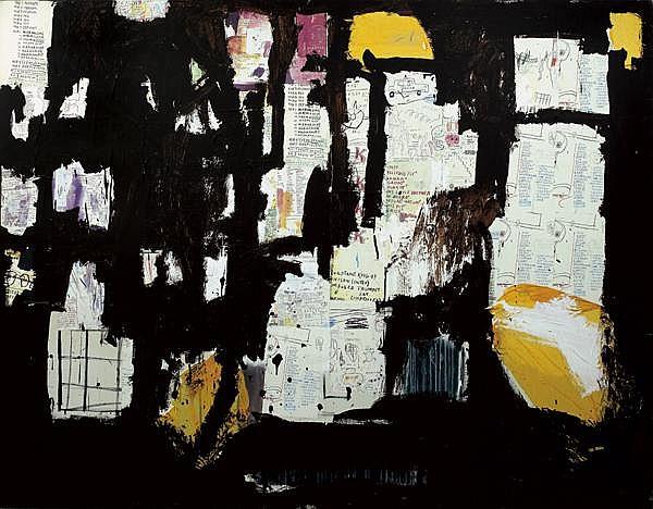 Jean-Michel Basquiat-Marmaduke-1985