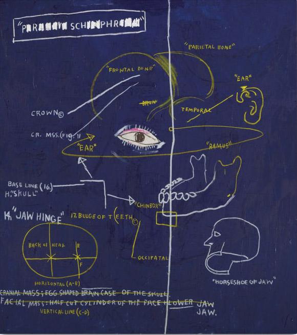 Jean-Michel Basquiat-Masonic Lodge-1983