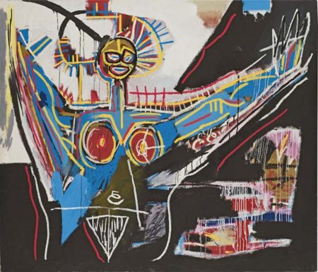 Jean-Michel Basquiat-Mater-1982