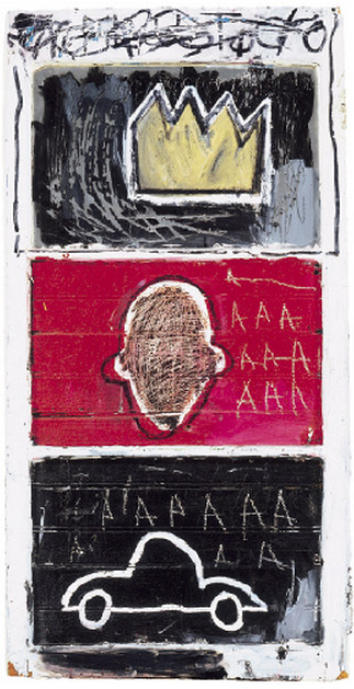 Jean-Michel Basquiat-Minor Success-1980
