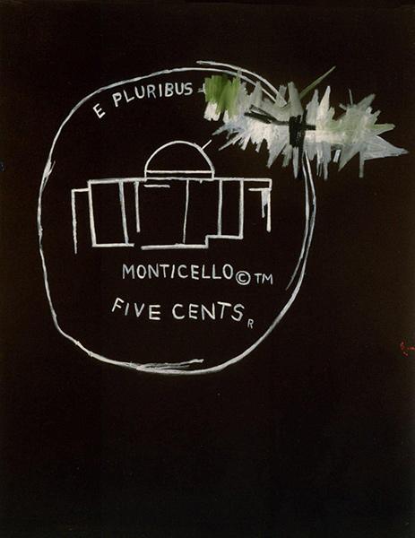 Jean-Michel Basquiat-Monticello-1986