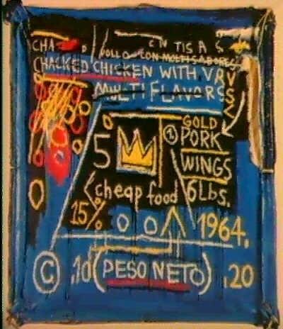 Jean-Michel Basquiat-Multiflavors-1982
