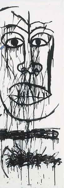 Jean-Michel Basquiat-Murdered Negros-1982