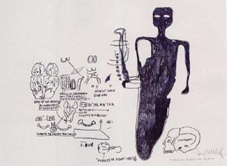 Jean-Michel Basquiat-Muscles of Right Orbit-1985