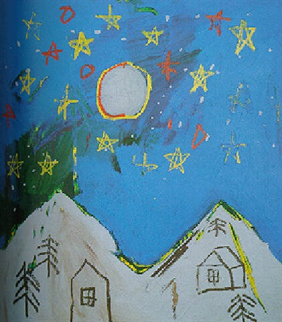 Jean-Michel Basquiat-Nachtleben-1983