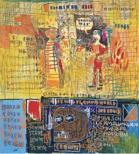 Jean-Michel Basquiat-Napoleonic Stereotype Circa'44-1983