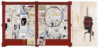Jean-Michel Basquiat-Negro Period-1986