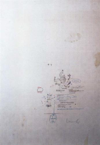 Jean-Michel Basquiat-Neptune-1987