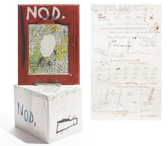Jean-Michel Basquiat-Nod-1986