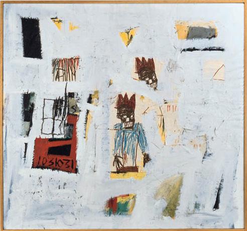 Jean-Michel Basquiat-Number 18-1981